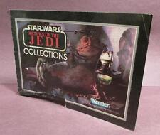 Vintage Star Wars 1983 Kenner Catalog/Booklet!! Return of the Jedi Collections