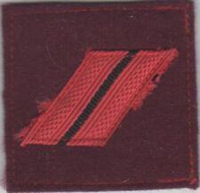 GALON Militaire Grade de poitrine pour CAPORAL Service de Santé des Armées