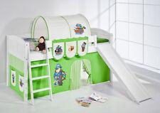 Weiße Kinder-Bettgestelle ohne Matratze mit Piraten 200 cm