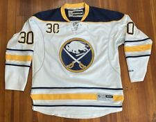Ryan Miller #30 Buffalo Sabres Stitched Hockey Reebok Jersey Size Large