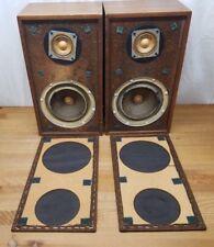 Vintage Pair of KLH Model Twenty-Six (26) Speakers Tested Great Shape