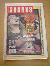 SOUNDS 1989 NOVEMBER 4 GUNS N ROSES AXL ROSE KILLDOZER WEDDING PRESENT NIRVANA