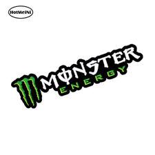Adesivo Monster Energy moto scooter cross scritta bianca Casco Moto gp SUV Auto