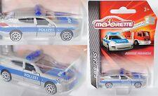 Majorette S.O.S. CARS 212057181 Porsche Panamera 4S, POLIZEI, ca. 1:64
