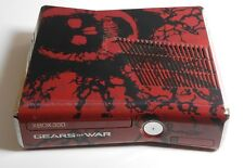 XBOX 360/xbox360 SLIM 320gb Limited Gears of War 3 Edition (console di ricambio)