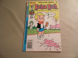Richie Rich #209 (Harvey Comics 1981) Free Domestic Shipping