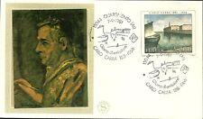 ITALIA BUSTA FILAGRANO  CARRA' FAENZA 1981 ANNULLO SPECIALE FDC QUARGNENTO (AL)