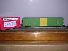 """INTER.#46912  D.T.& I. """"Green"""" 60' PS-1 Single Door Box Car w/8 Car #s H.O. 1/87"""