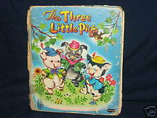 Whitman Tell-a-Tale The Three Little Pigs (c) 1953