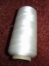SILK SEWING THREAD Natural White Dyeable Craft 5000 Meters HUGE Spool NWT