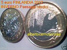 5 euro 2012 fdc FINLANDIA Finland FINLANDE Finnland Inverno Hiver Winter inviern