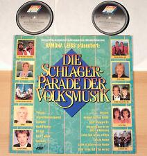DIE SCHLAGERPARADE DER VOLKSMUSIK - Folge 1  (ARIOLA 1990 / 2LP / MINT)