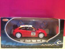 SOLIDO SUPERBE CITROEN XSARA WRC 2001 NEUF EN BOITE 1/43 E1