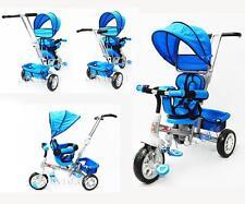 Reverse Seat Kid Tricycle Toddler Pram Stroller Ride on Trike Parental Handle