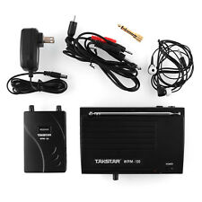 In Ear Professional Stage Wireless Monitor System Transmitter Receiver DJ style