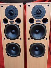 Acoustic Energy AE109 Excellent British Floor Standing Speakers Beige AE HiFi