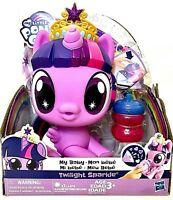 Hasbro My Little Pony My Baby Twilight Sparkle Feed To Activate Bottle Sounds