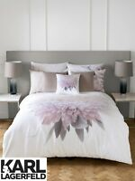Karl Lagerfeld Designer ADAHLI FLORAL Printed 100% Cotton Bedding Bed Linen