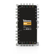 Televes MS512NCQ Nevoswitch Multischalter Basisgerät, 5 Eingänge, 12 Ausgänge