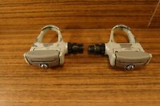 "1990's racing Shimano 105 pedals PD-1056 made in Japan, 9/16""  LOOK Patent"