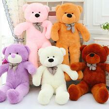 Fashion White Teddy Bear 140cm Big Cute Plush Stuffed Giant Soft Toys Kids Gift