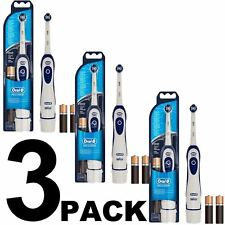 3 x Oral-B Advance Power 400 DB4010 Battery Powered Electric Toothbrush Advanced