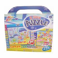 Pour Enfants Fête Prize – 25 Pièces À 2 Faces Puzzle - Sous L'eau & Ferme