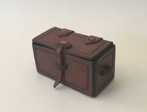 Dolls House Leather Storage Chest