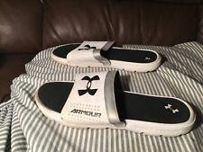 Under Armour Playmaker Slides Sandals Size 10 1287323-100