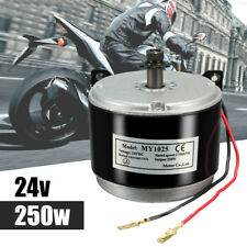 24V DC 14A Electric Start Motor 250W Chain For E Bike Scooters