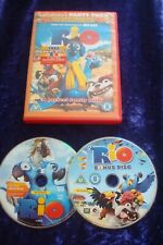 DVD.RIO.ANIMATED CLASSIC.SPECIAL TWO DISC EDITION.FAMILY FILM.UK REGION 2 DVD