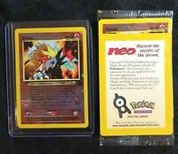 Entei Holo FACTORY SEALED Black Star Promo 34 original WotC vintage Pokemon card