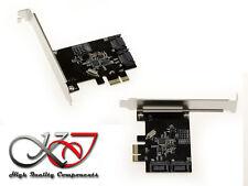 Regler PCIe Raid Ausrüstung sata III 6GB 2 Ports ASM 1061R