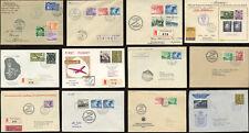 More details for liechtenstein flights glider mail bird frankings ffc envelopes etc.. each priced