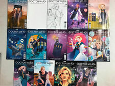 DOCTOR WHO 13th Doctor #1 ~ SET 14 VARIANT ~ LCSD Local Comic Shop Day Exclusive