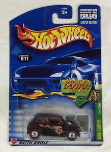 2002 Hot Wheels Treasure Hunt #11 Black Mini Cooper Real Riders