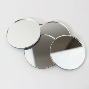 PK of 6 Mirror Circle / Acrylic Mirror Disc Shatter Resistant / Wall Decor