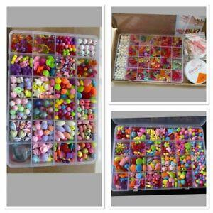 Jewellery Making Kit Girls Bracelet Necklaces,Hairband Making Craft Kit - SALE