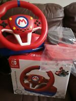 NINTENDO SWITCH * HORI MARIO KART RACING STEERING WHEEL PRO MINI + PEDALS