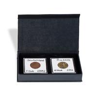 Ecrin pour 2 pièces de monnaie de collection, capsules de protection Gratuites
