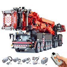 Full RC Liebherr LTM 11200 Mobile Crane with Power Motors Functions 8128 Pieces