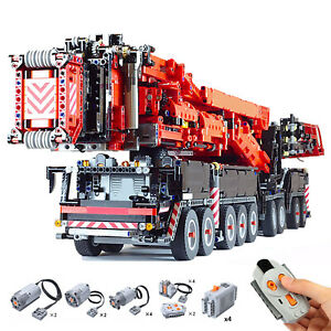 Full RC Liebherr LTM 11200 Mobile Crane with Power Functions 8128 Pieces