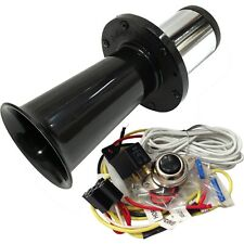 Classic Ooga Car Air Horn Black with Horn Button and Install Kit
