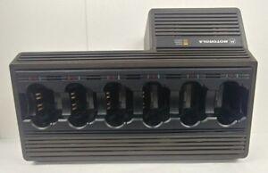 Motorola NTN1177E, 6 Bay Rapid Battery Charger XTS3000/3500/Saber/Astro Radio