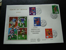 FRANCE - enveloppe 1er jour 1/6/1996 (coupe du monde de football) (cy52) french