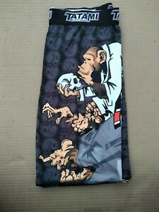 Tatami Fightwear Thinker Monkey Spats Gently Used, Size Large. Rashguard Jujitsu