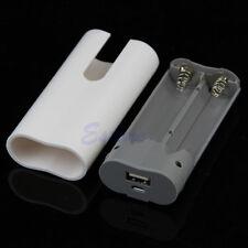 USB 2x 18650 Portable Power Bank Chargeur Boîtier Kit de bricolage pour iPhone