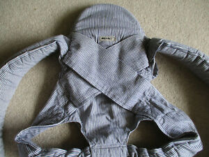 Wilkinet Baby Carrier & Cosy Corduroy Cover - so comfortable & easy to use - VGC