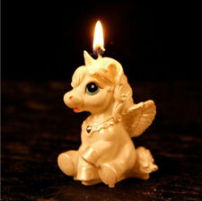 NEW Unicorn Horse Kids Happy Birthday Candle Party Cake Topper Decoration Candle