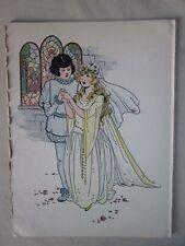 Vintage Print,SLEEPING BEAUTY,#2,Famous Fairy Tales,1924